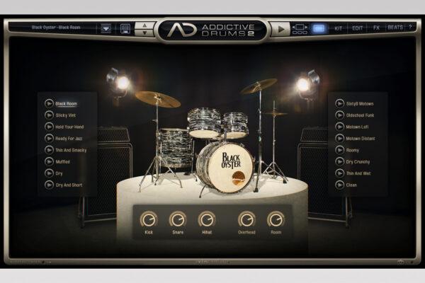 XLN Audio - Addictive Drums 2 - Black Oyster Explore