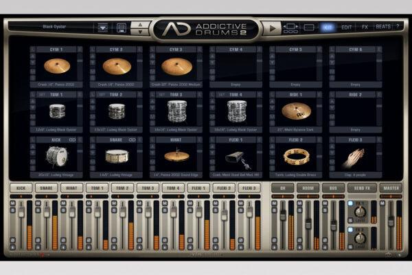XLN Audio - Addictive Drums 2 - Black Oyster Kit