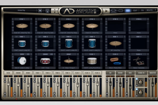 XLN Audio - Addictive Drums 2 - Custom
