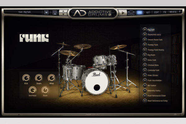 XLN Audio - Addictive Drums - Funk Explore