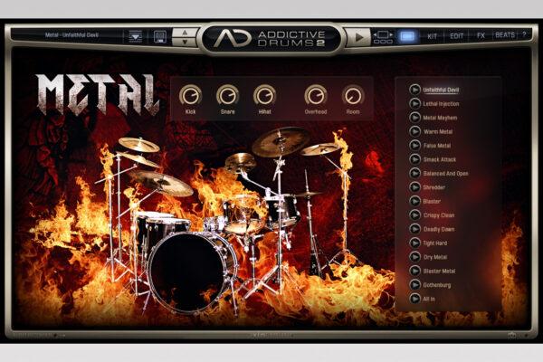 XLN Audio - Addictive Drums - Metal Explore