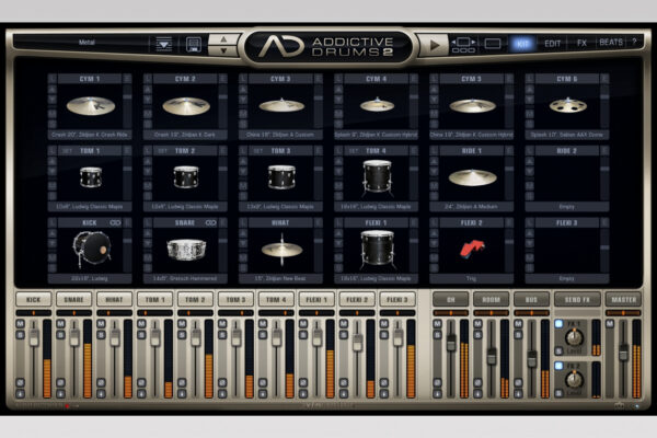 XLN Audio - Addictive Drums - Metal Kit