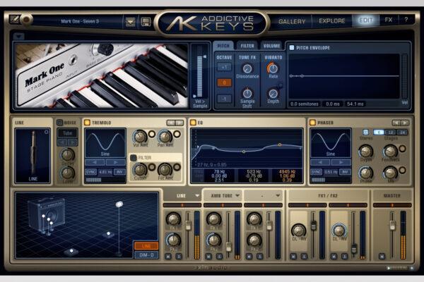 XLN Audio - Addictive Keys - Mark One Edit