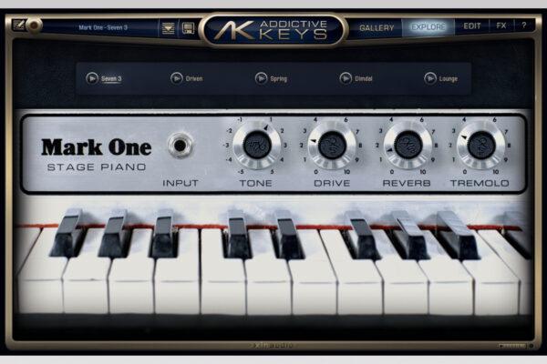 XLN Audio - Addictive Keys - Mark One Explore