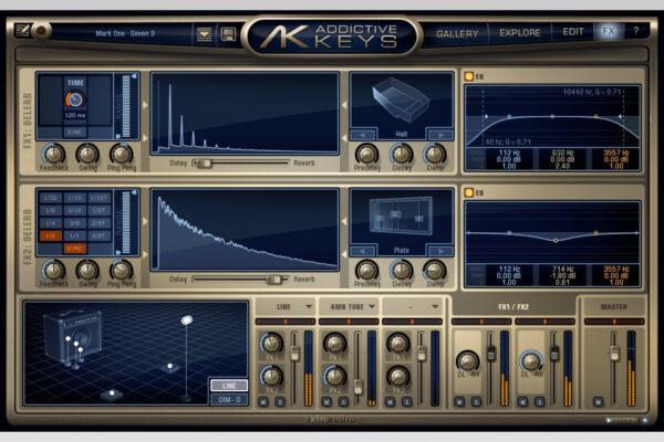 XLN Audio - Addictive Keys - Mark One FX