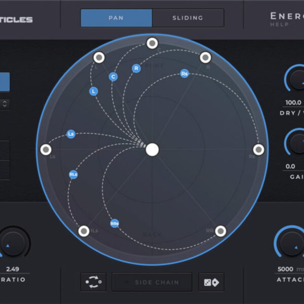 Sound Particles - Energy Panner