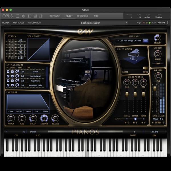OPUS Pianos Interface