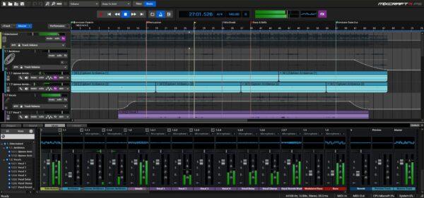 Acounstica Mixcraft Pro 9 Studio