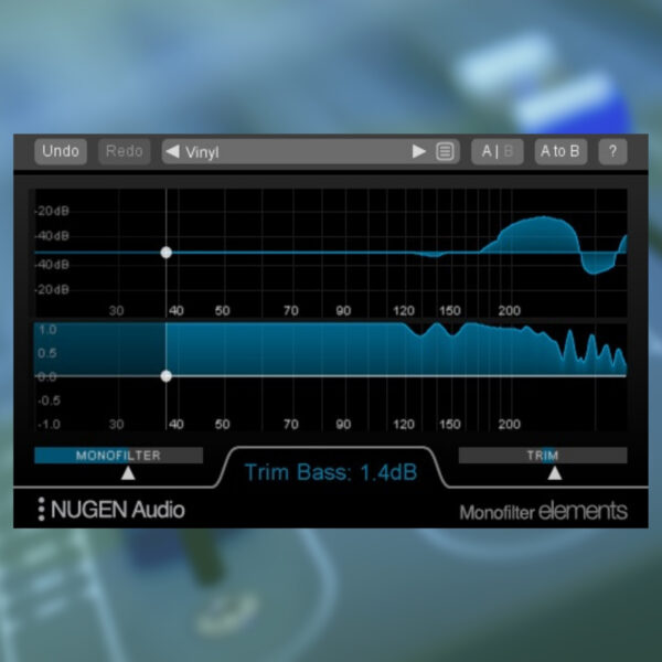 NUGEN Audio - Monofilter Elements
