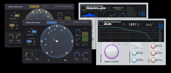 Sound Particles 4FX Bundle Screenshot