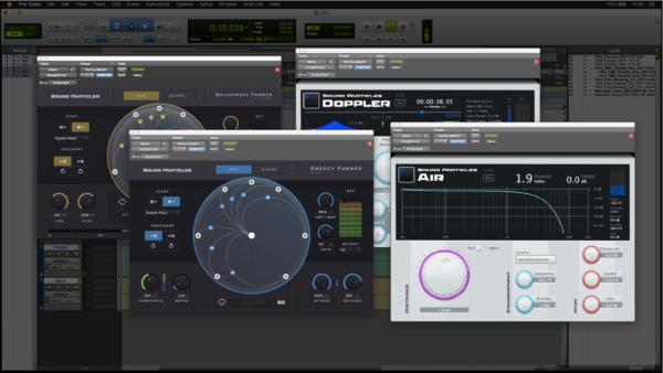Sound Particles 4FX Bundle Screenshot Protools
