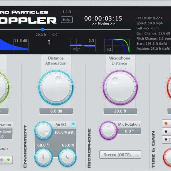 Sound Particles Doppler
