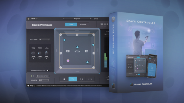 Sound Particles Space Controller Studio Box