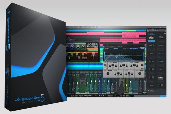 Studio One 5 Artist Box and ScreenShot