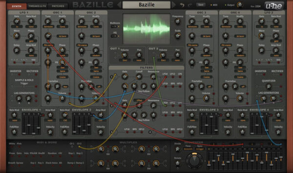 U-HE Bazille Synth