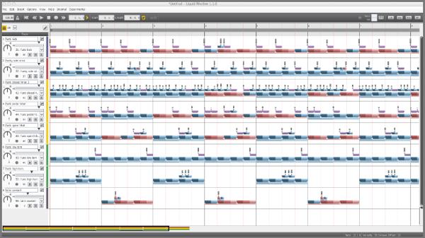 Wave DNA Liquid Rhythm 01