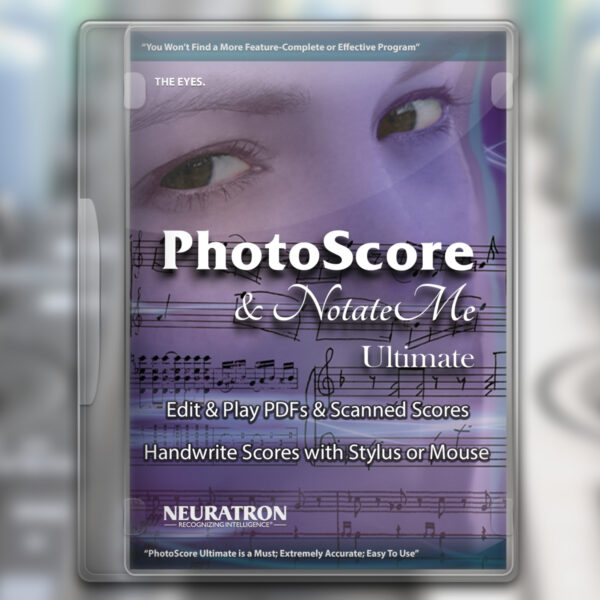 Neuratron PhotoScore and NotateMe Ultimate