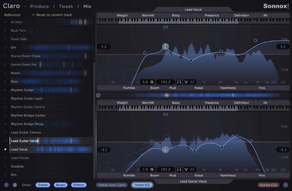 Sonnox Claro - Mix Mastering