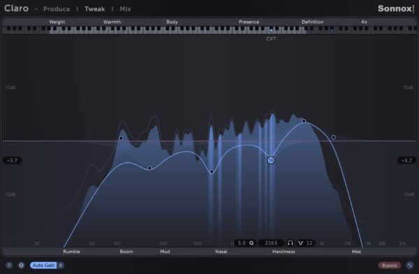 Sonnox Claro - Tweak Resonance
