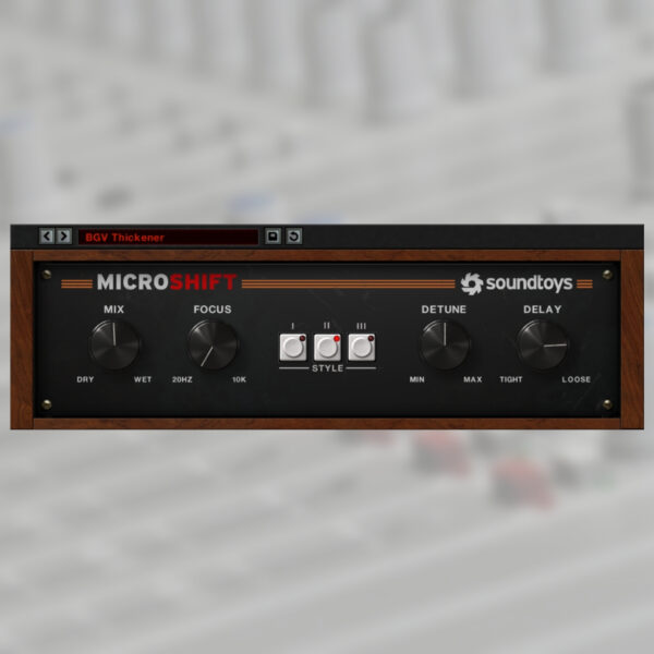 Soundtoys - MicroShift